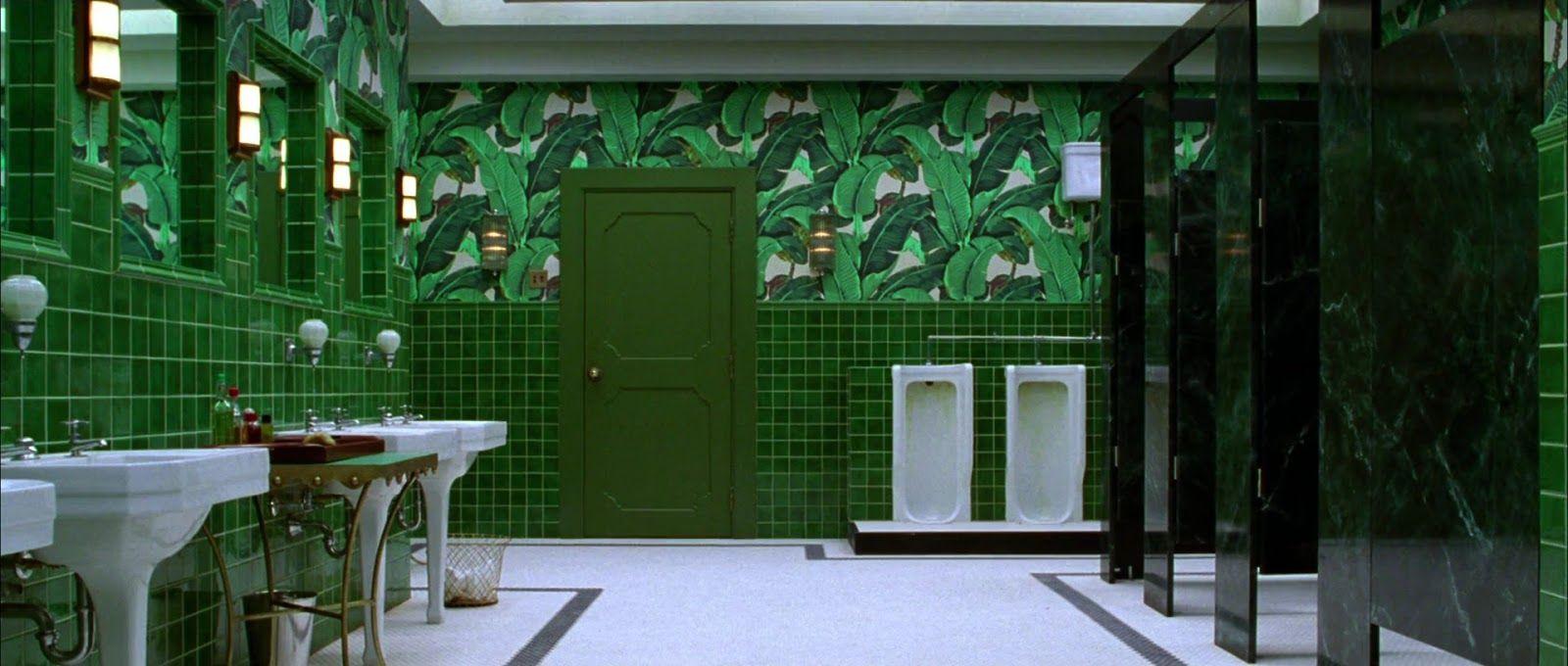 Inspiration from The Aviator bathroom scene