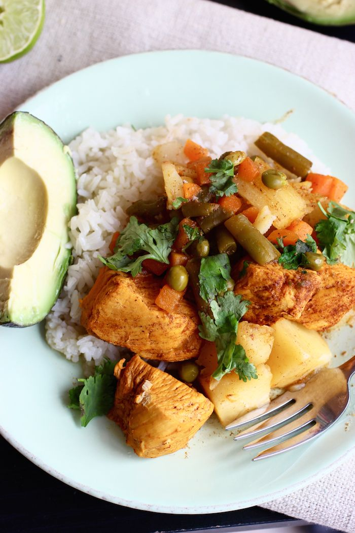 Chicken And Vegetable Stew Recipe In 2018 Colombian Recipes