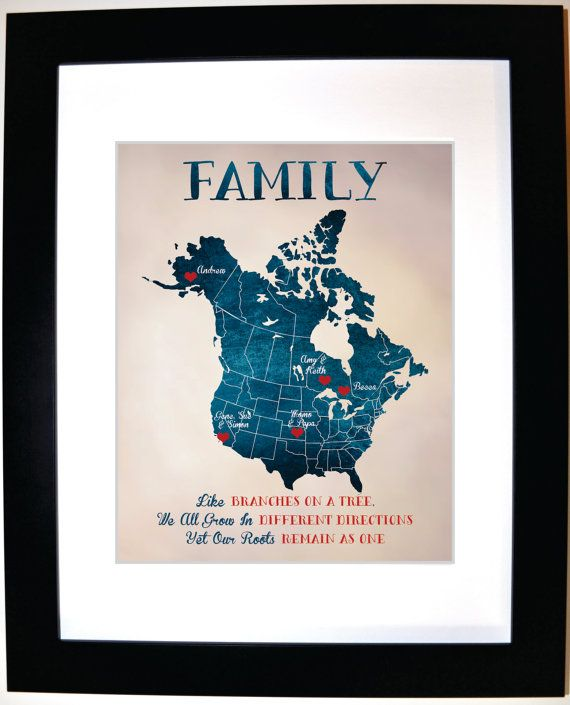 Personalized Family Gift Ideas: Custom Present For Mom by Picmats ...