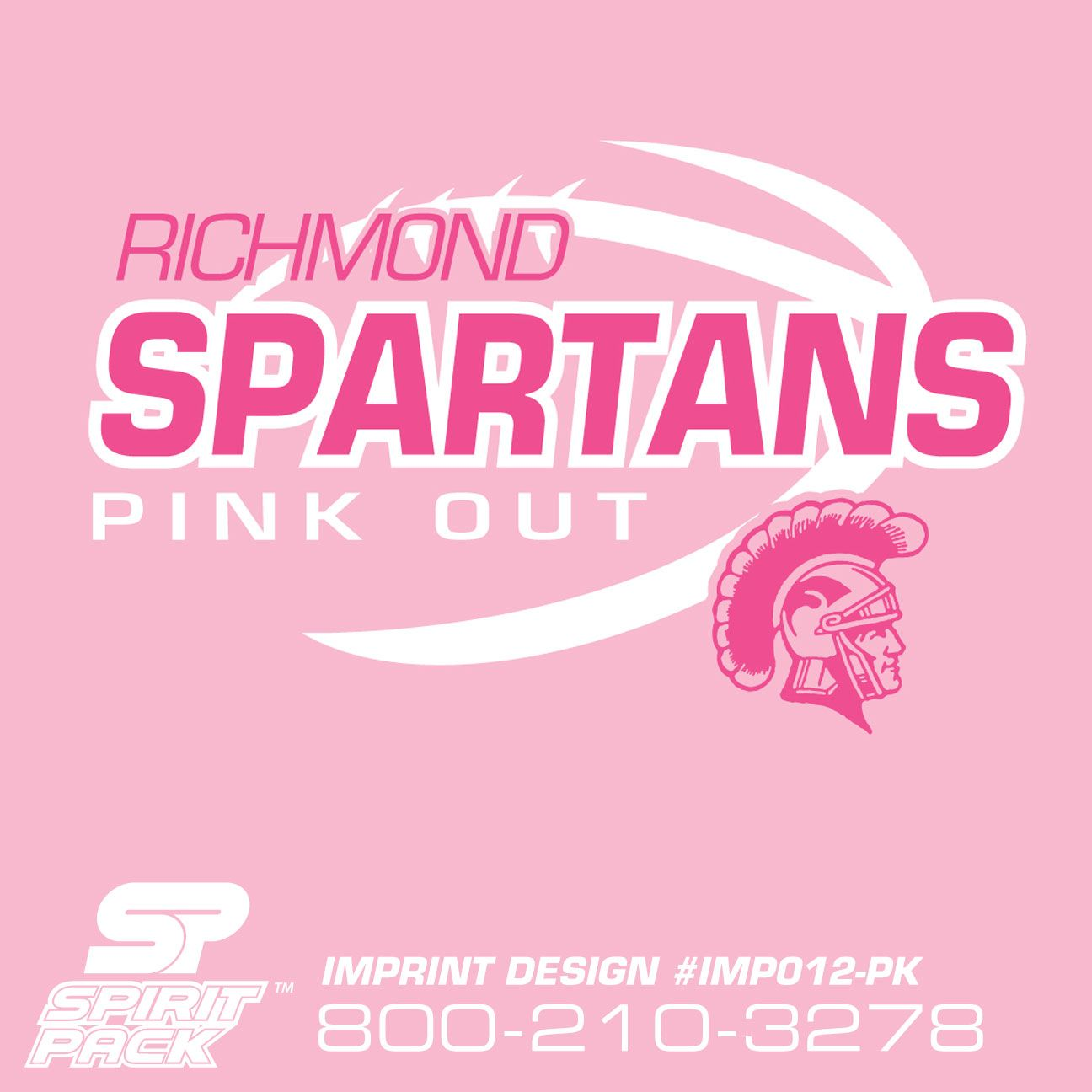 New Pink Out Shirt Designs! Make it Yours at www.spiritpack.com ...