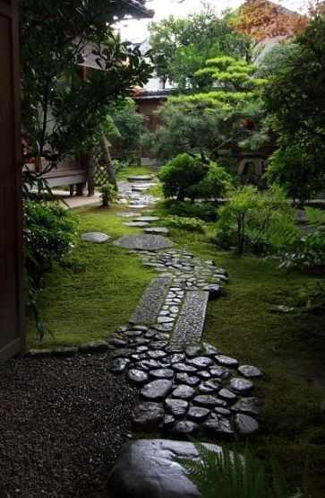 45 Awesome Garden Path Walkways Design Ideas For You #japangarden