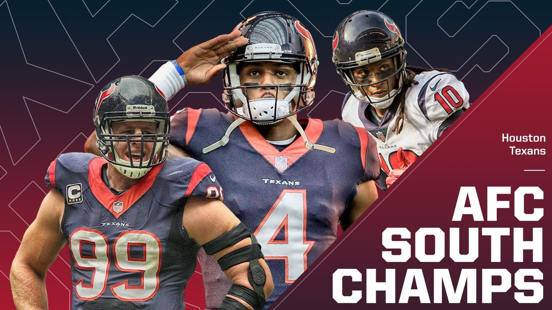 982f8d1a 2019 AFC South Champions | Houston Texans | Football helmets ...
