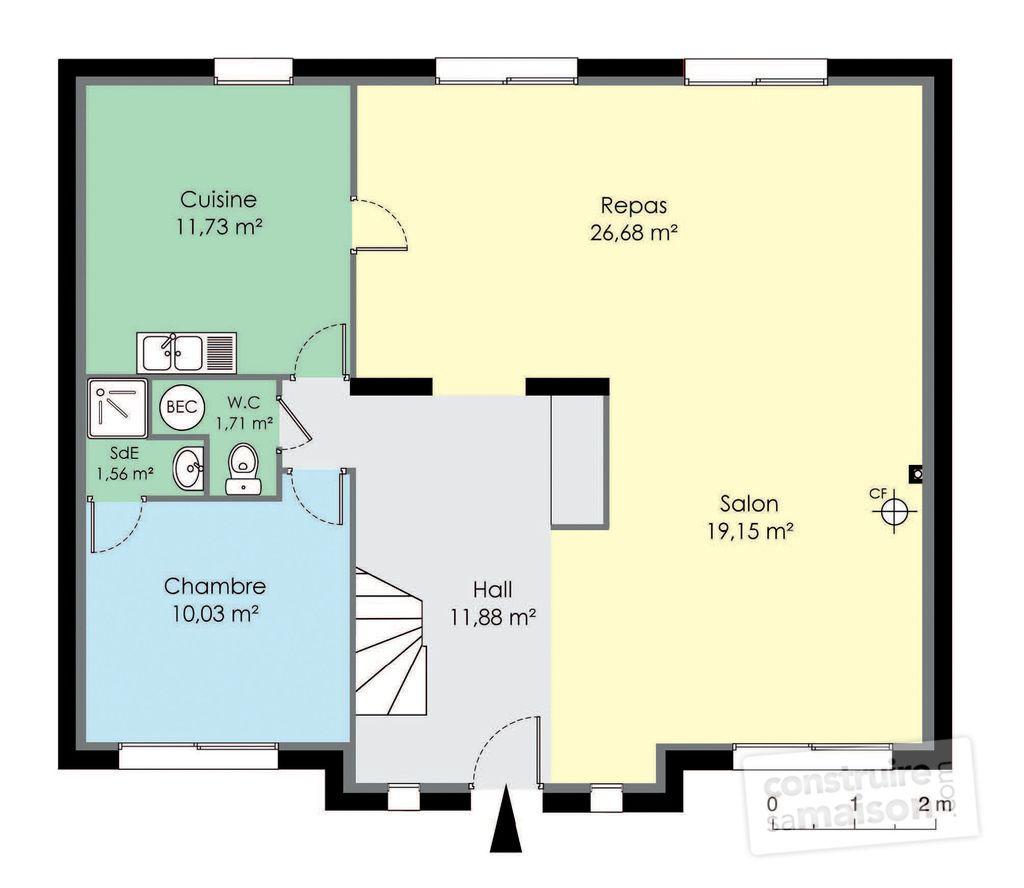 Chambres · plan etage maison maison francilienne 2