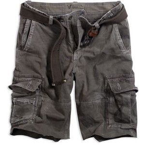 American Eagle Outfitter grey cargo shorts