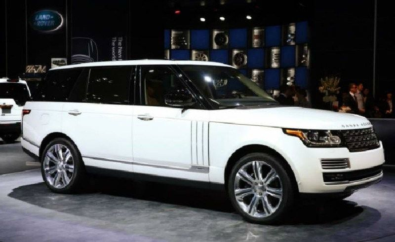 Handsome Powerful Range Rover Sport White Photo Collection
