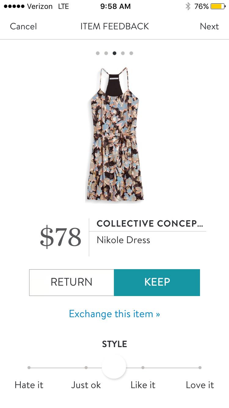Stitch Fix Collective Concepts Nikole Dress