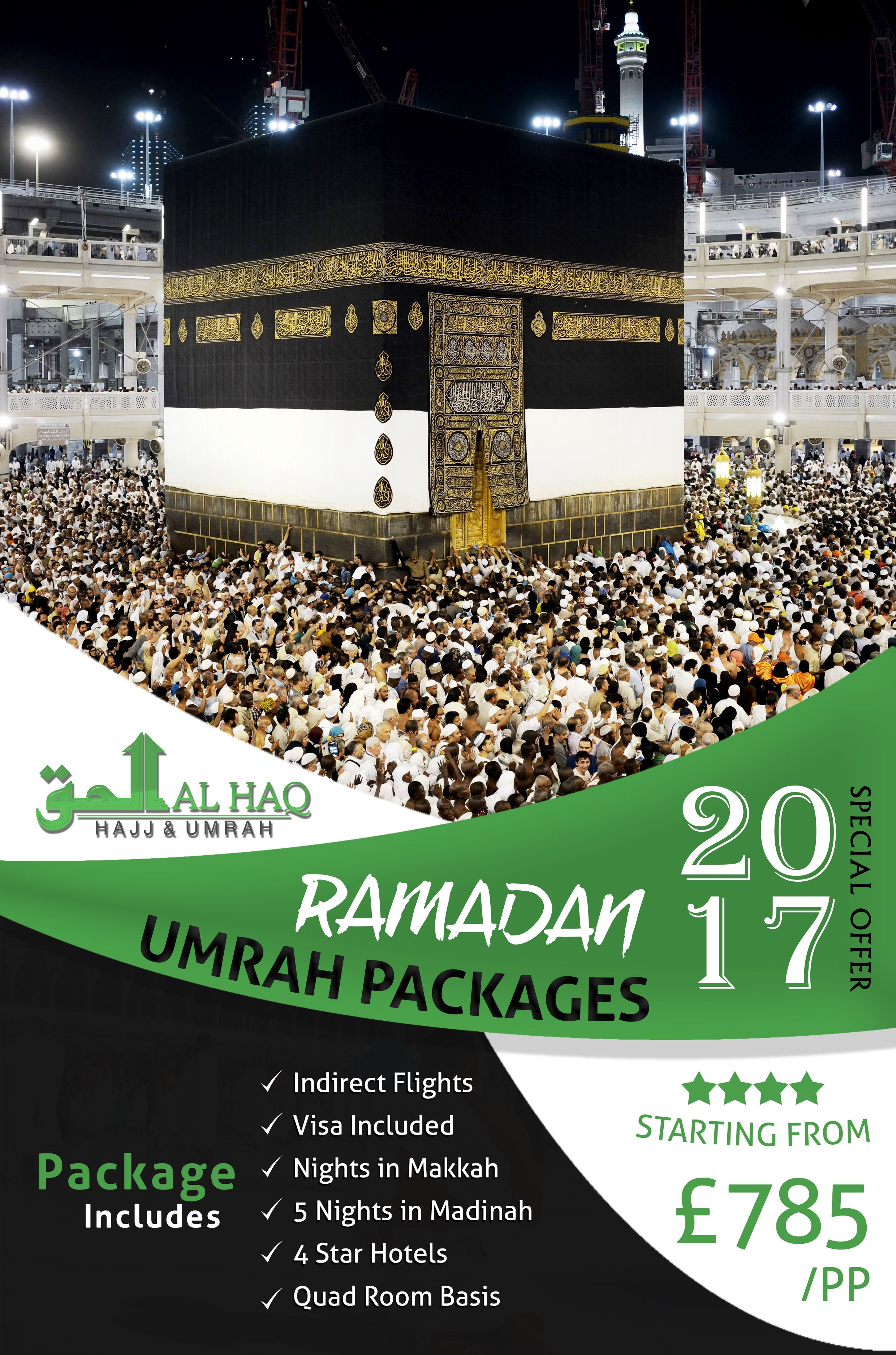 Umrah Banner: 10 Nights 4 Star Ramadan #Umrah Package 2017 Starting From