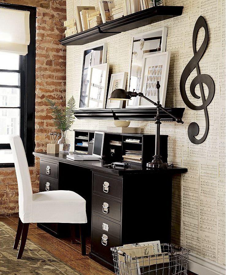 Detali Music Room Office Home Studio Music Home Studio Desk