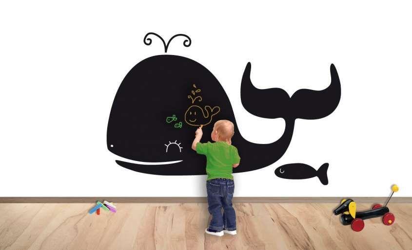 Pareti Lavagna Per Bambini : Decorazioni per le pareti della cameretta dei bambini progetti