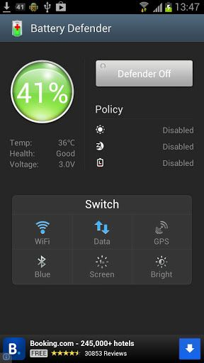 Battery Defender v0.9.9r29 AdFree Requirements Android