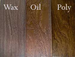 Finish For Wood Floors Is An Oil