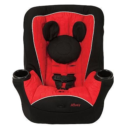 Disney Baby Mickey Mouse Convertible Car Seat Mouseketeer
