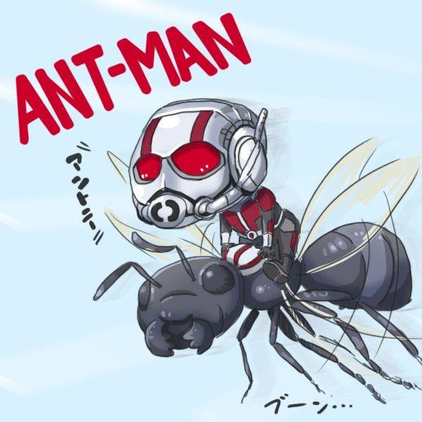 dessin fanart ant man par neeegi comics marvel disney super hros - Dessin Marvel