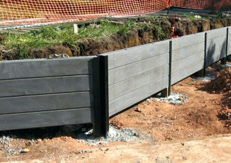 Concrete Retaining Wall Concrete Retaining Wall Concrete Sleeper