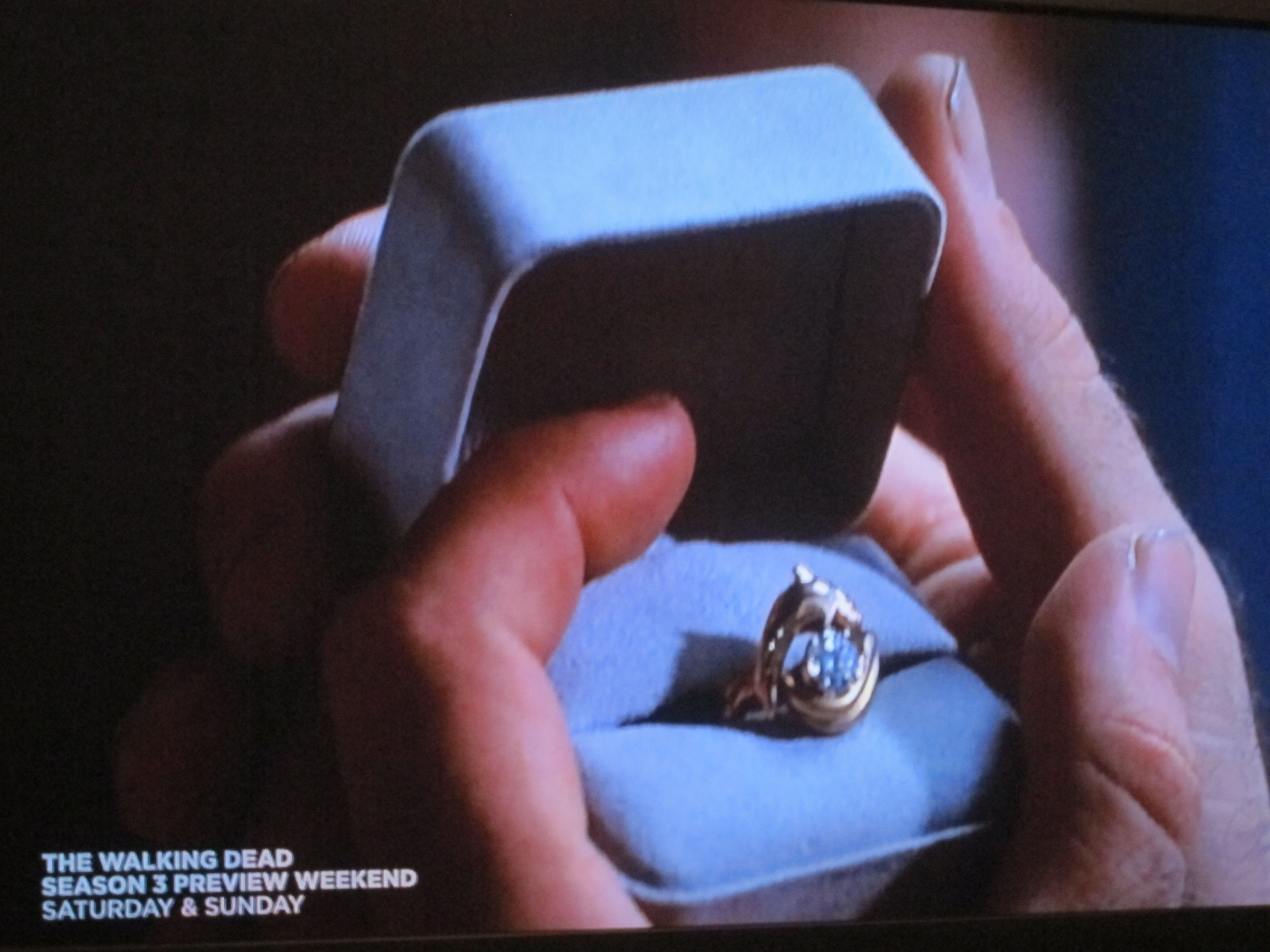 Will SmithVivica A Foxs engagement ring from Independence Day