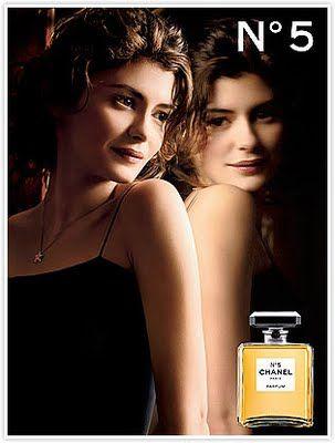 Chanel No 5s New Icon Audrey Tautou Perfume Ad Audrey Tautou