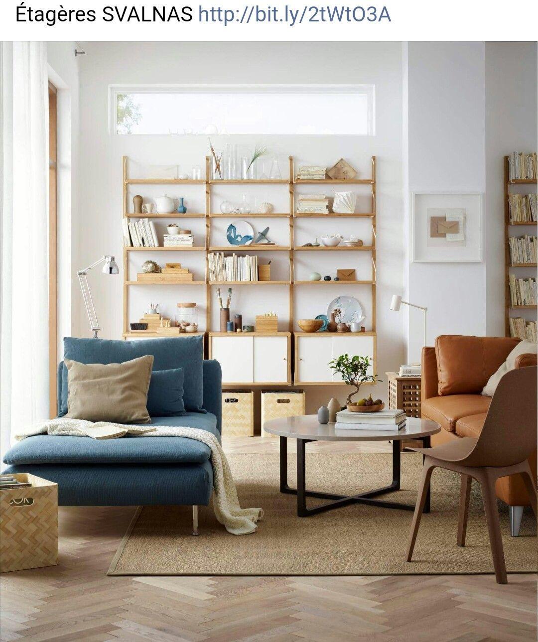 Ikea Uk Living Room Furniture: Étagères SVALNAS Ikea