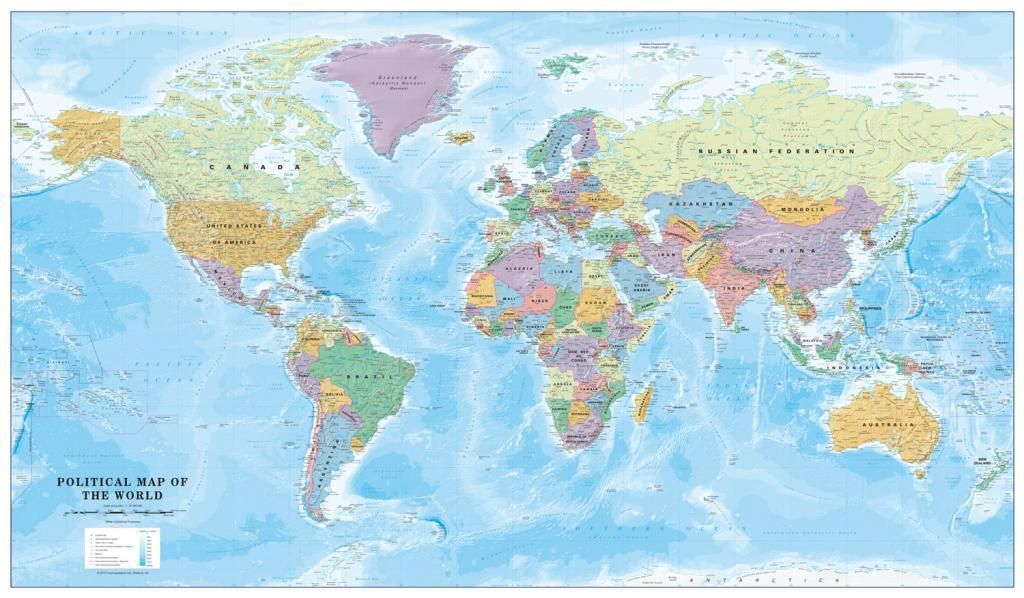 Political world map scale 130 million no flags 2712 political world map scale 130 million no flags 2712 cosmographics gumiabroncs Image collections