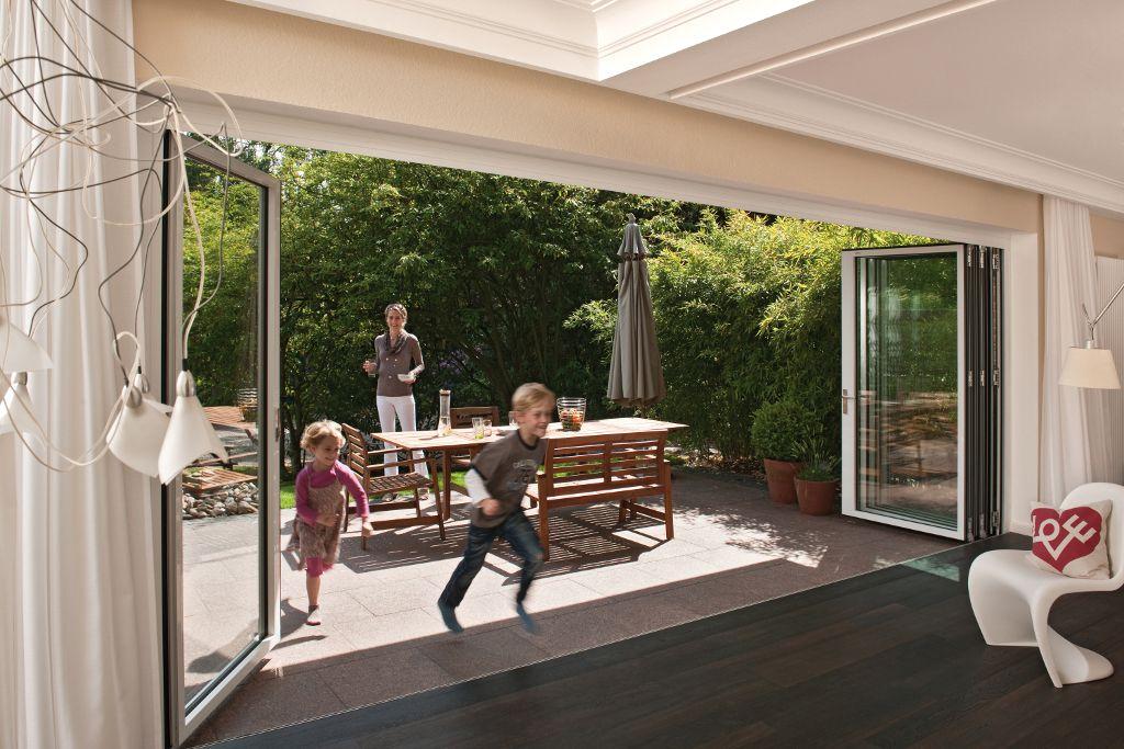 Glazen vouwwanden en serres van solarlux slim en fraai for Tuin renoveren tips