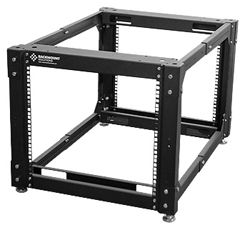 Small Portable Open Frame Server Rack Small Rack Fits Under Desks Tables And Other Areas Where You Need To Rack Only A Few Ite Server Rack Open Frame Hosting