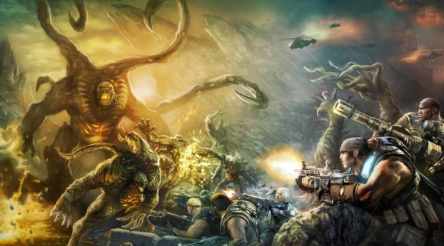 Gears Of War Judgment Art Video Game Wallpaper Hd Games 4k Wallpapers Images Photos And Background Gears Of War Art Good Morning Sunshine