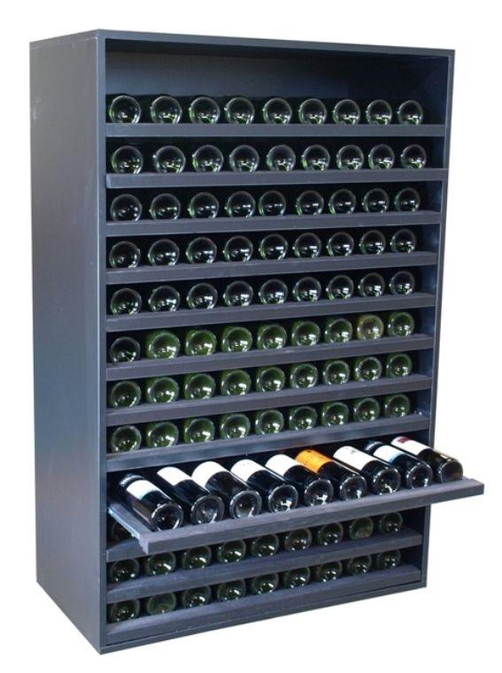 Botellero merlot super 108 botellas vino botellero - Estanterias de vino ...