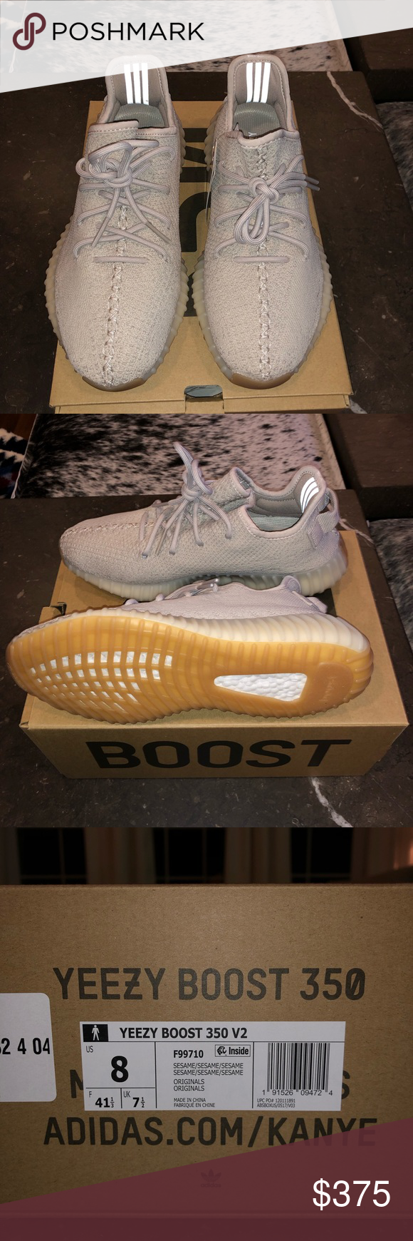the best attitude dd460 29144 Yeezy Boost 350 | color: Sesame Brand new with tags. Never ...
