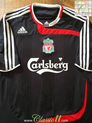 buy popular 04926 9716a Official Adidas Liverpool third kit football shirt from the ...