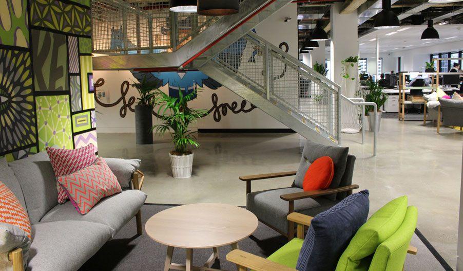 Oficina Facebook Sydney: modernidad e inspiración industrial ...