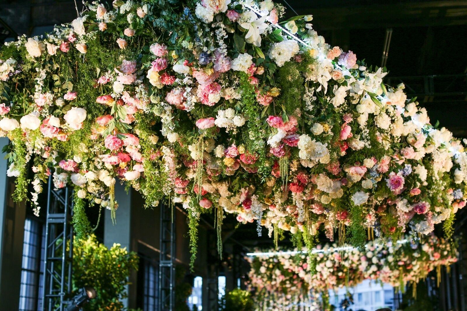 Wedding decorations home  Lily Kwong Used  Flowers to Transform New Yorkus High Line