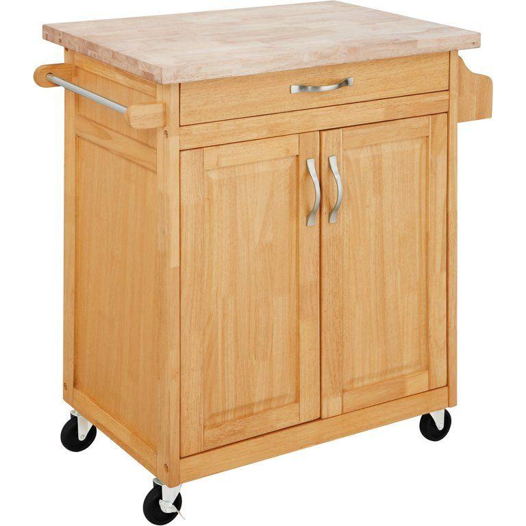 Mainstays Kitchen Island Cart White Walmart Com Kitchen Island Cart Wood Storage Cabinets Wood Kitchen Island