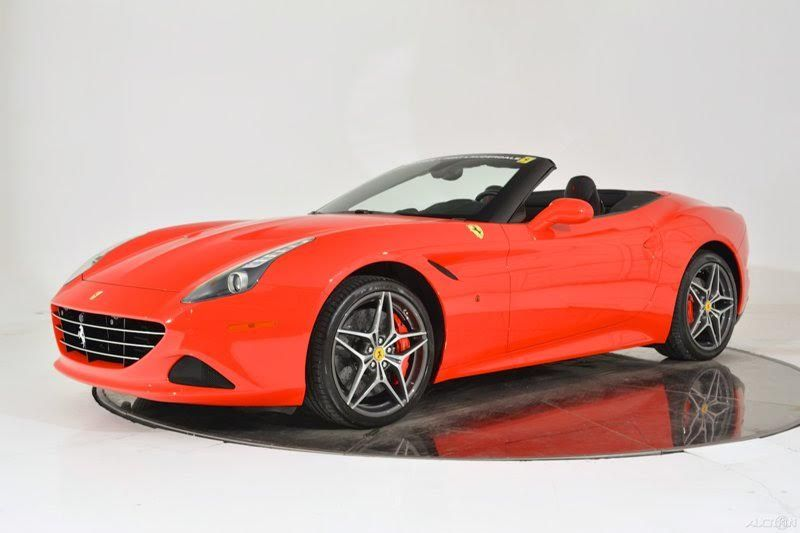 2015 Ferrari California T, Rosso Red/Black Leather Interior