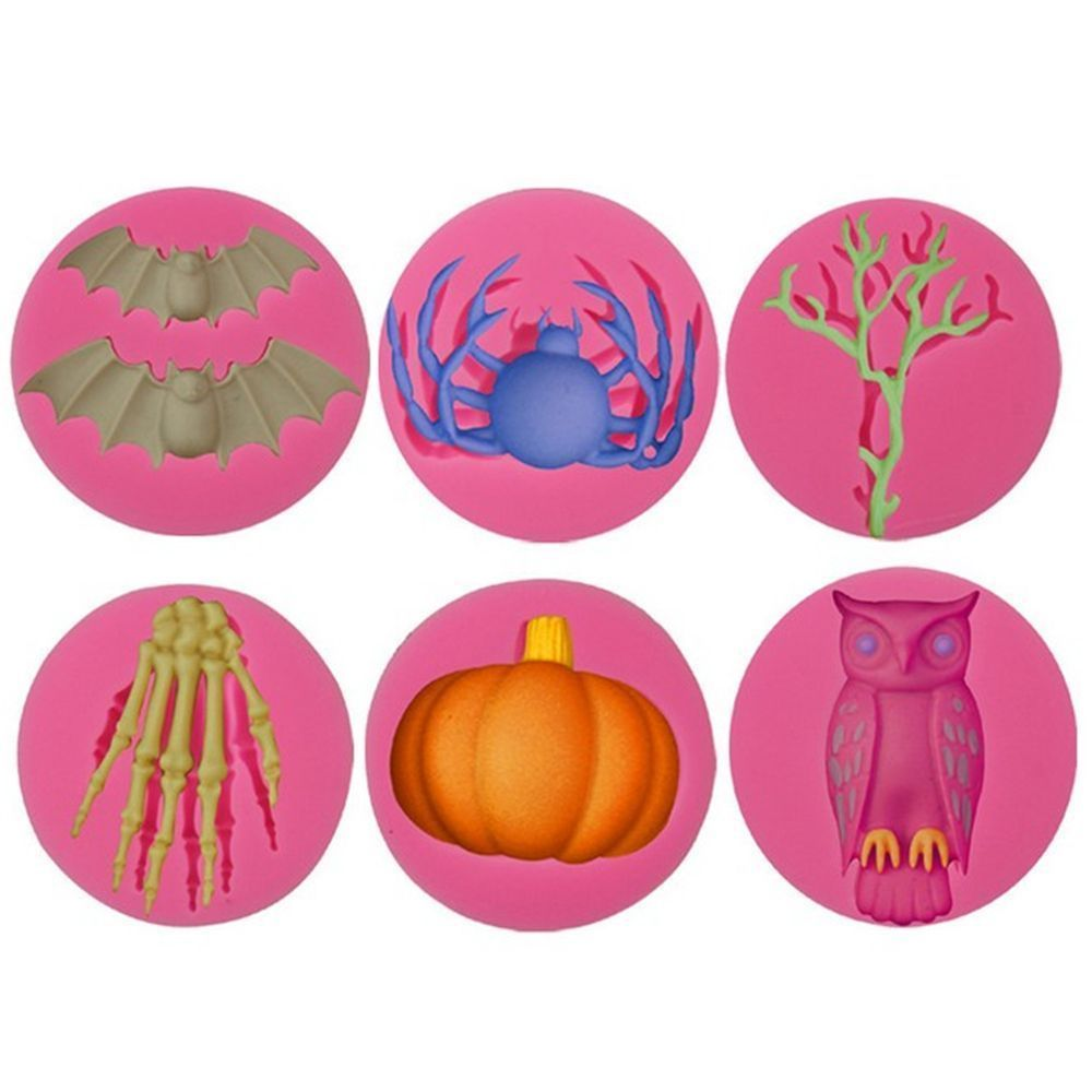 Mini Frog Halloween Garden Silicone Mould//Mold Sugarpaste,Cupcakes,Cake Toppers
