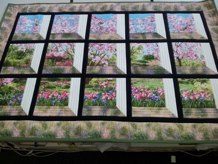 Window Frame Box Quilt Google Search Quilts