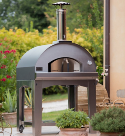 The Mangiafuoco Pizza Oven Was Designed From The Ground Up To Cook Perfect Italian Style Pizza But Its Larger Dimensions Fornos Churrasqueira Comida Caseira
