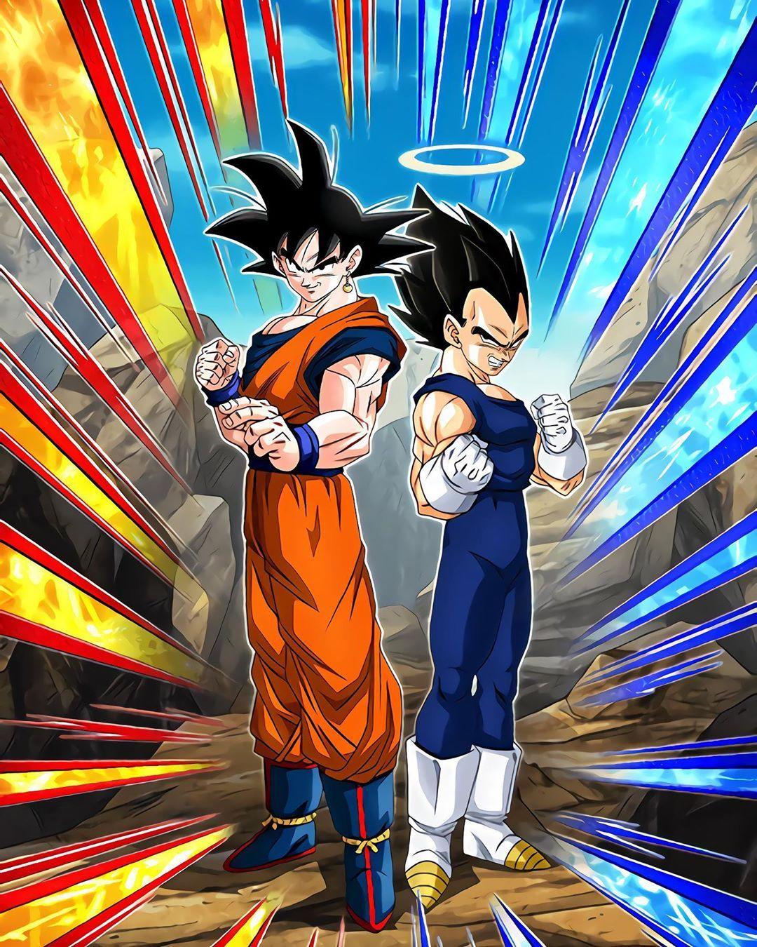 Majindokkan40 On Instagram Hd Art Of Goku Vegeta And Buu Majindokkan40 Anime Dragon Ball Super Dragon Ball Super Manga Dragon Ball Artwork