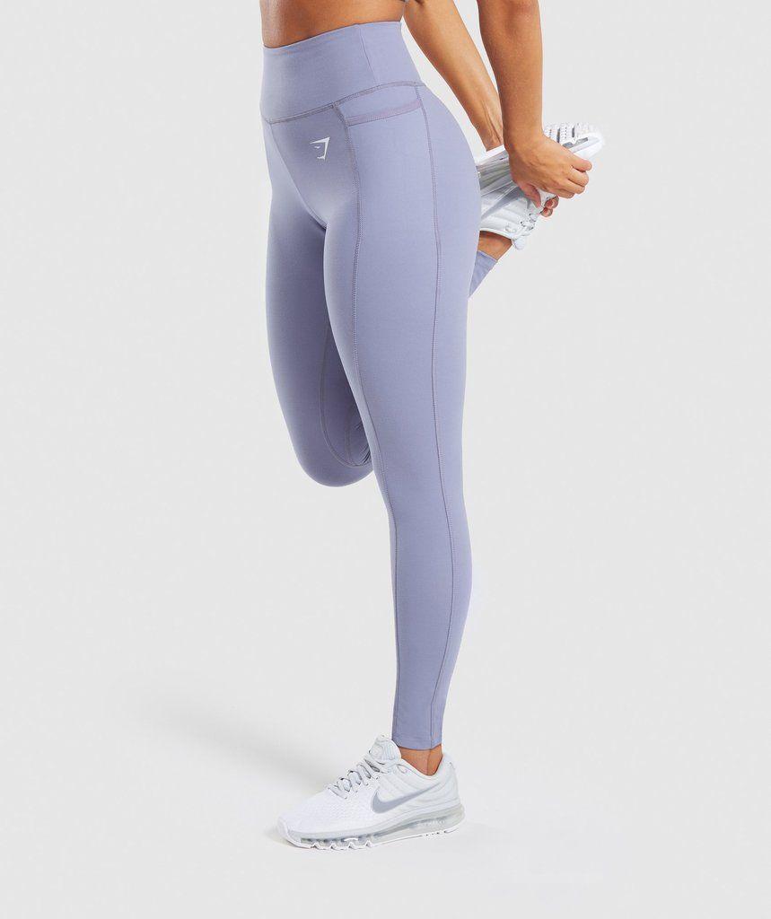70ee492ce3906d Gymshark Dreamy Leggings 2.0 - Steel Blue 1