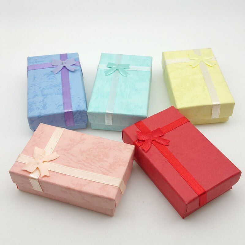 Fanlus Paper Jewelry Gifts Boxes For Jewelry Display Rings Small