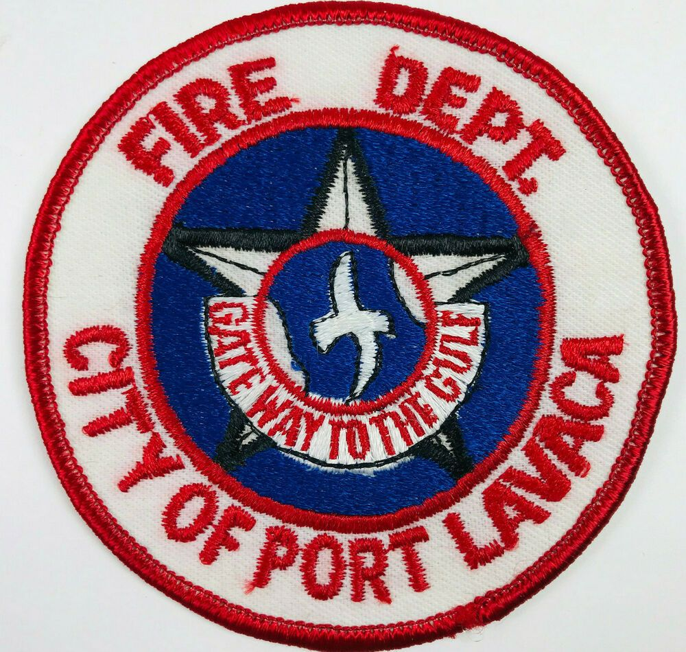 Port Lavaca Fire Department Calhoun County Texas Patch in