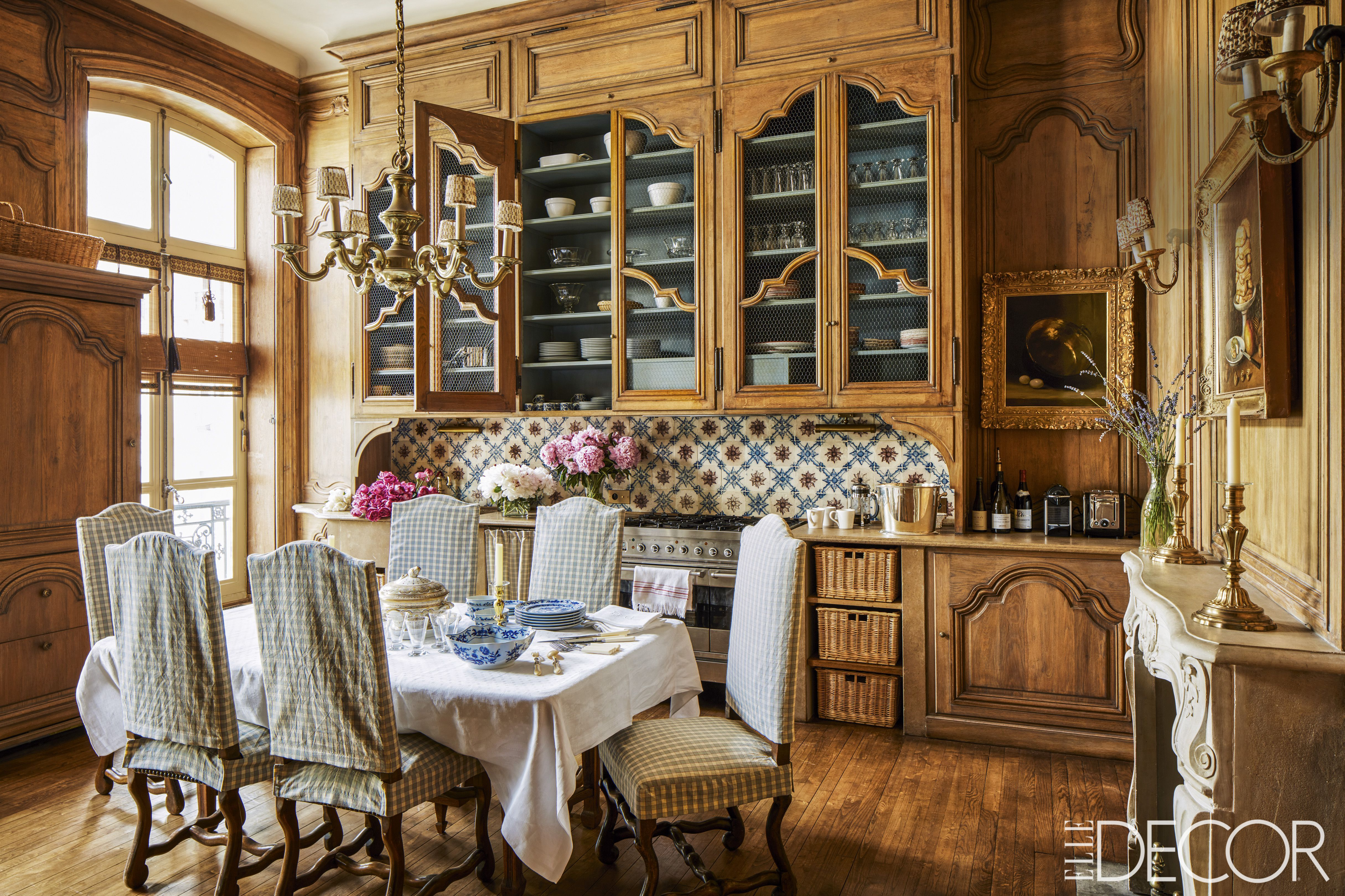 Top French Country Dining Room Design French Country Interiors