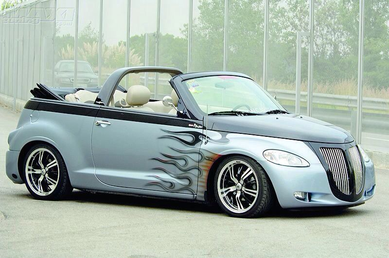 pt cruiser convertible new and old bad ass rides pinterest convertible cars and custom cars. Black Bedroom Furniture Sets. Home Design Ideas