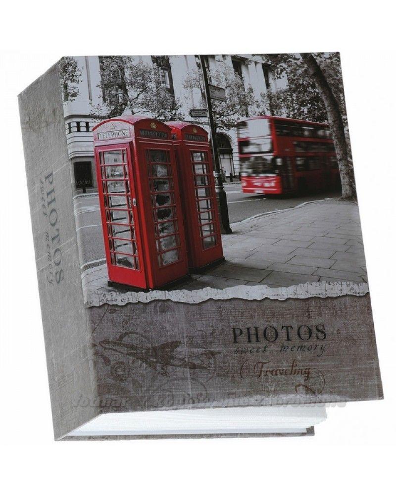 Album Kieszeniowy Na 300 Zdjec 10x15 Londyn Czerwona Budka Londyn