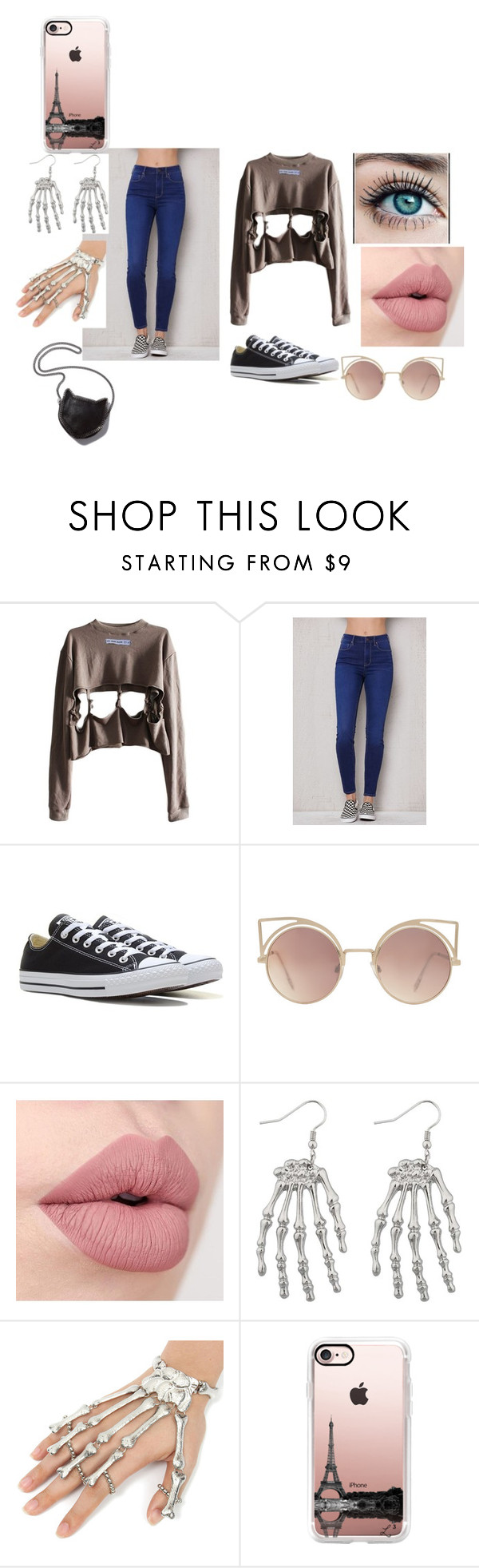 """""""WE DO"""" by esteffa on Polyvore featuring PacSun, Converse, MANGO, STELLA McCARTNEY y Casetify"""