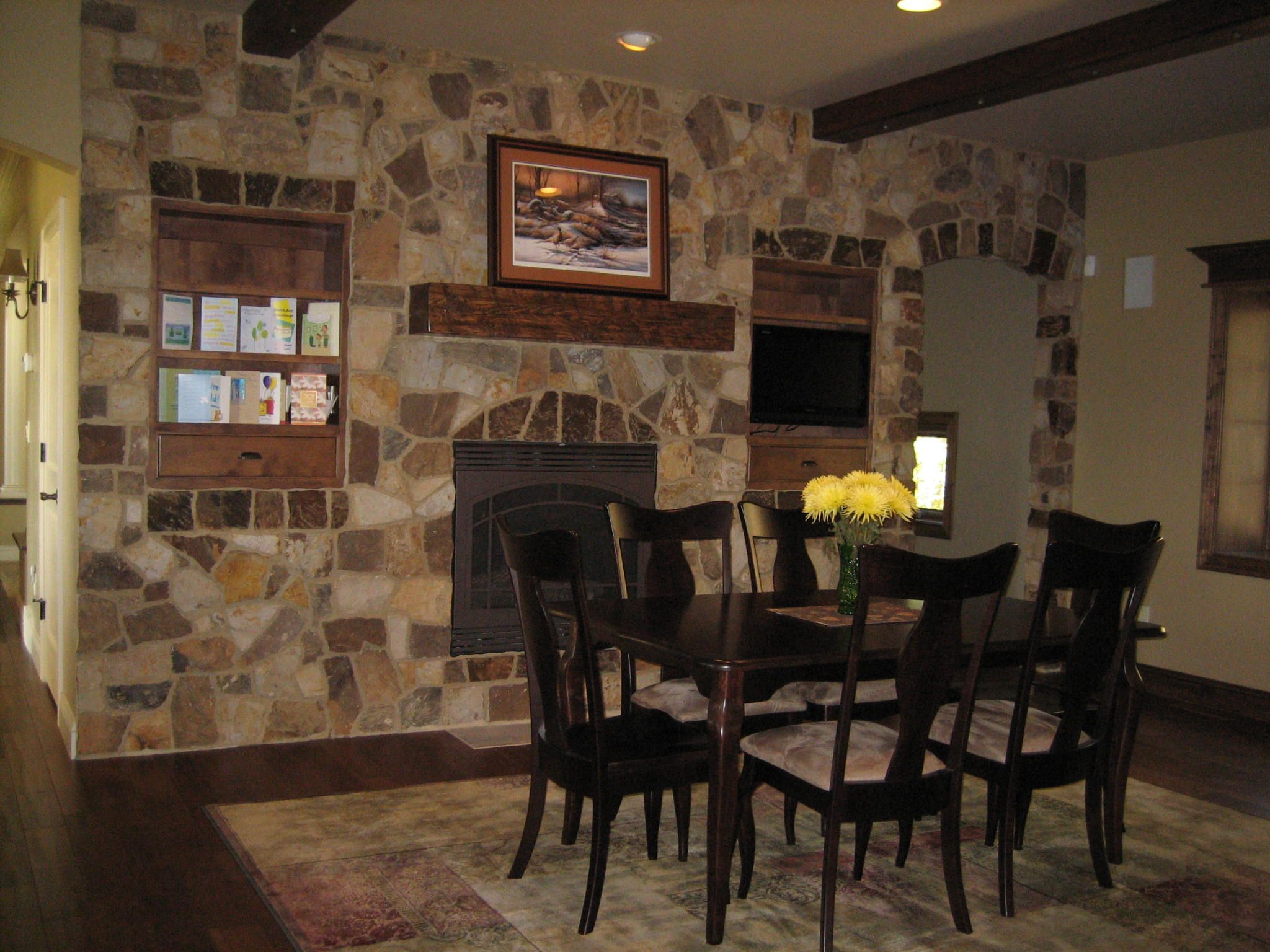 Stone Accent Wall In The Home