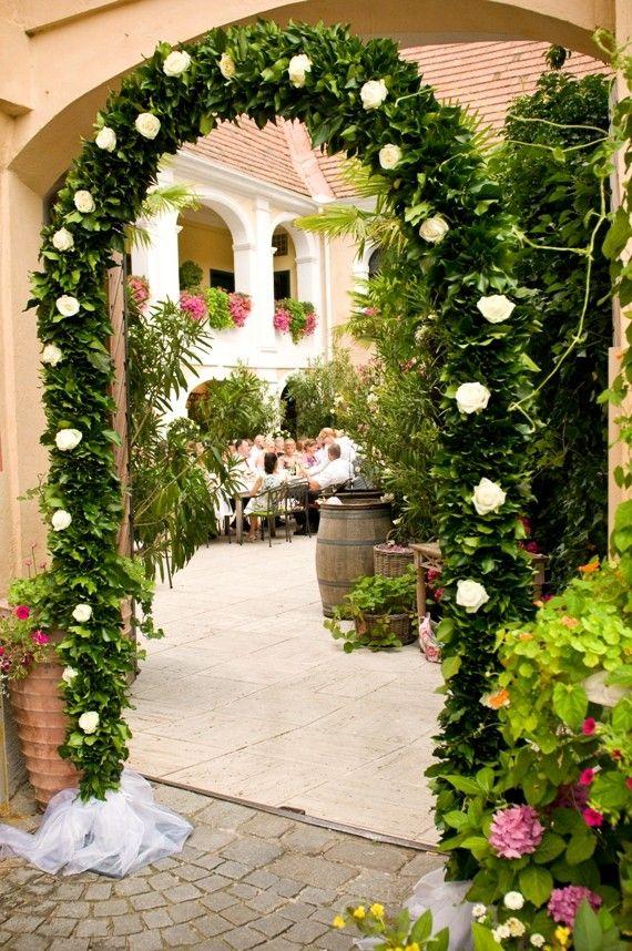Rosenbogen Bei Der Hochzeit Deko In 2018 Pinterest Wedding Und
