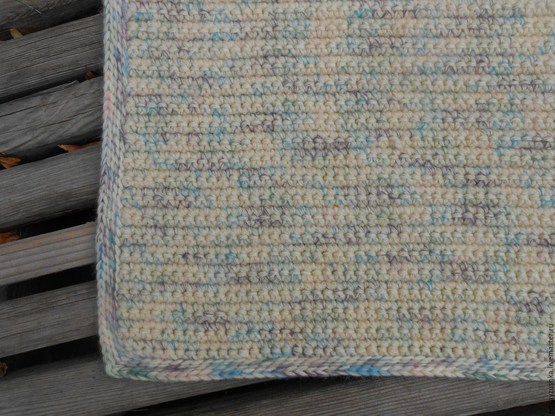 купить вязаный коврик дор блю бежевый вязаный коврик вязаный