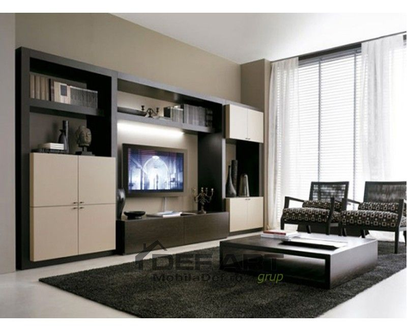 Living Room Furniture Design 26 Best Mobila Living Images On Pinterest  Entertainment Center