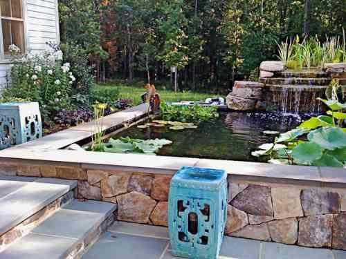 Comment aménager un bassin de jardin contemporain