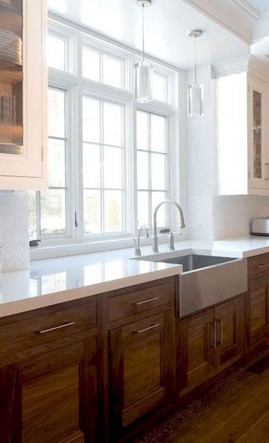 16 Best Modern Farmhouse Kitchen Cabinets Ideas In 2020 Medium Wood Kitchen Cabinets Rustic Kitchen Cabinets Wood Kitchen Counters