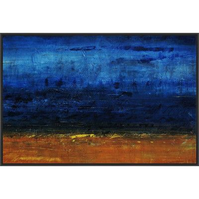 PTM Images Desire to be Framed Painting Print on Canvas